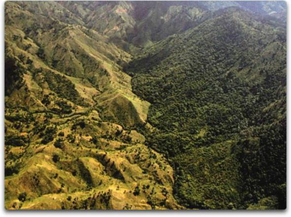 Border Between Haiti and Dominican Republic - CLIMATISM